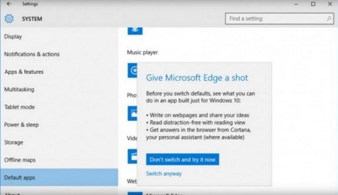 Microsoft asks to give Edge a shot - HiTech Service