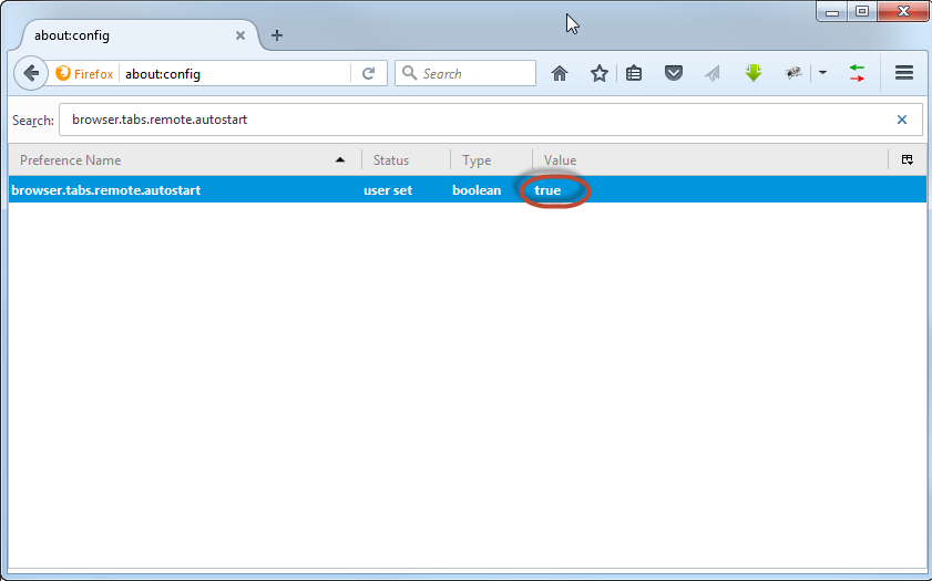 How to activate multiprocess mode in Firefox? - HiTech Service