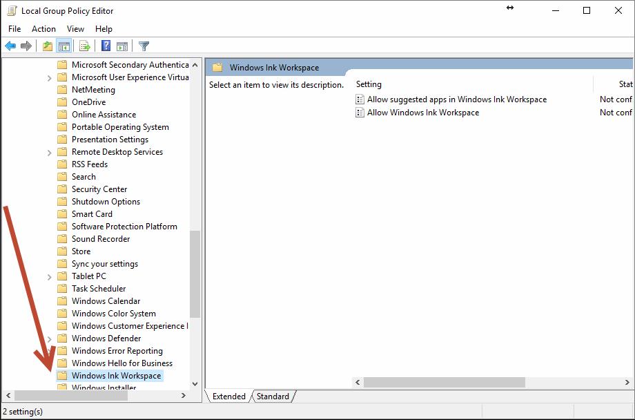 Turning Off Windows Ink \u2013 HiTech Service