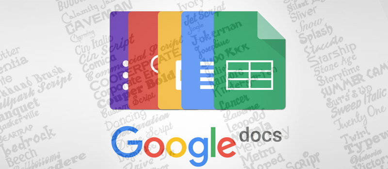 How to add more fonts to Google Docs? - HiTech Service