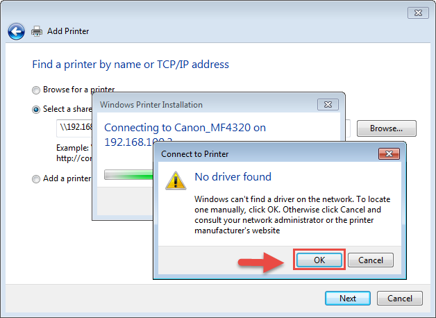 How to connect to the shared printer - HiTech Service