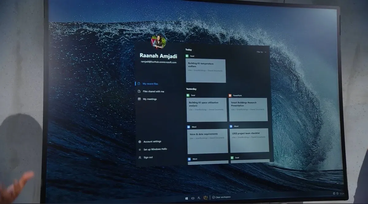 Lite OS start view