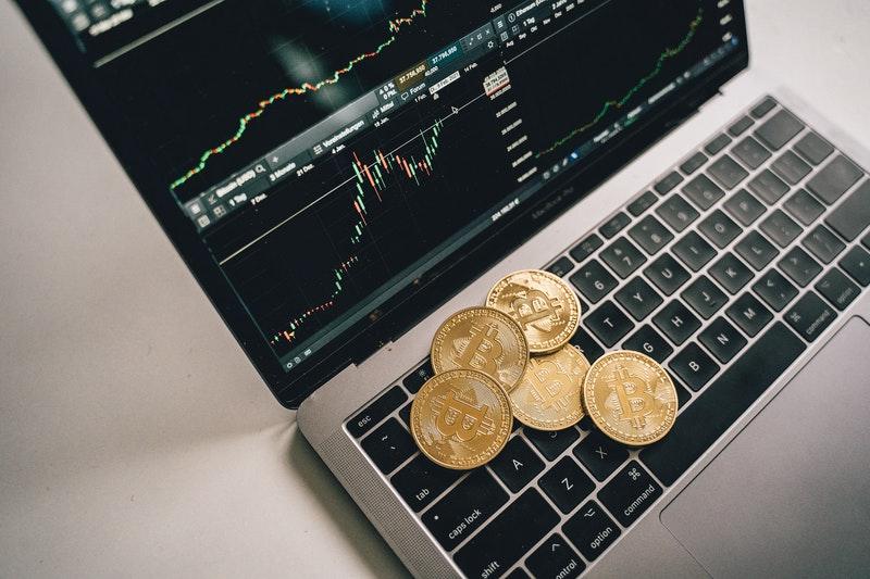 money in laptop
