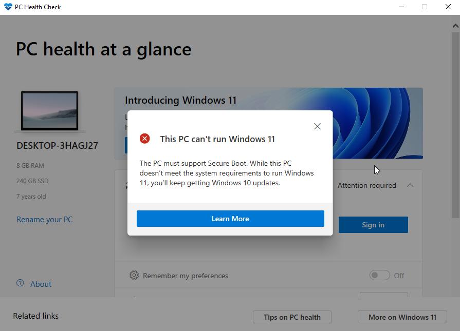 PC Health Checker App