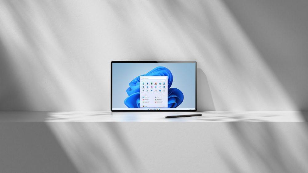 Windows 11 Tablet Device Render